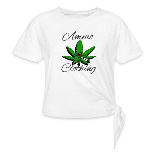 Mr Stoner Summer Wear - Women's Knotted T-Shirt