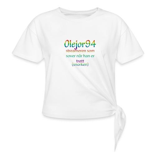 Olejor94 sover snorken - Knute-T-skjorte for kvinner
