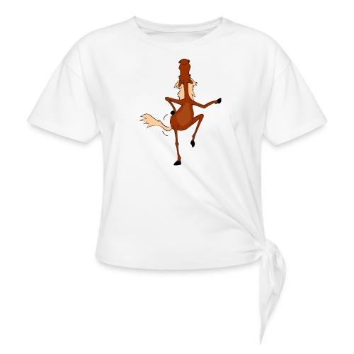 Tanzpferd - Knotenshirt