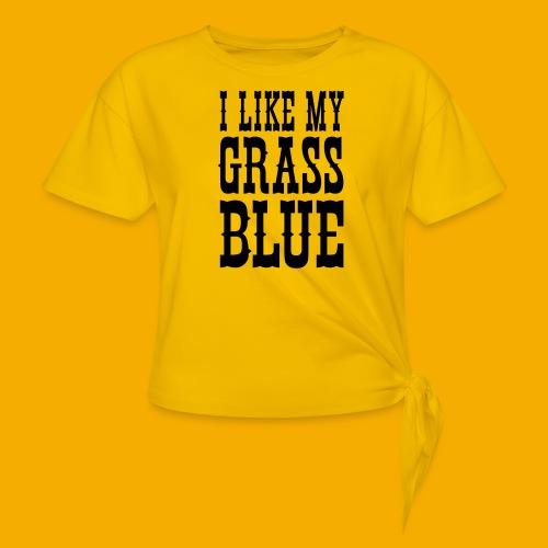 bluegrass - Vrouwen Geknoopt shirt