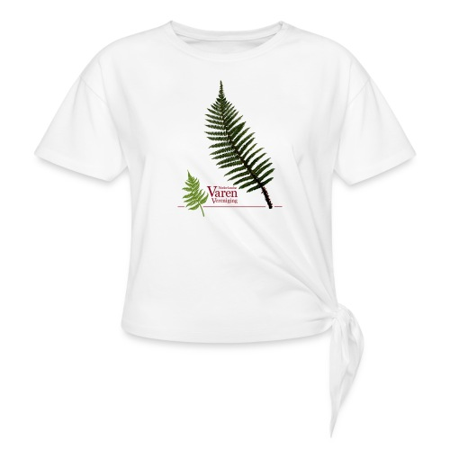 Polyblepharum - Vrouwen Geknoopt shirt