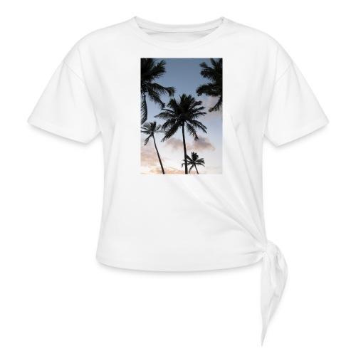 PALMTREES DOMINICAN REP. - Geknoopt shirt