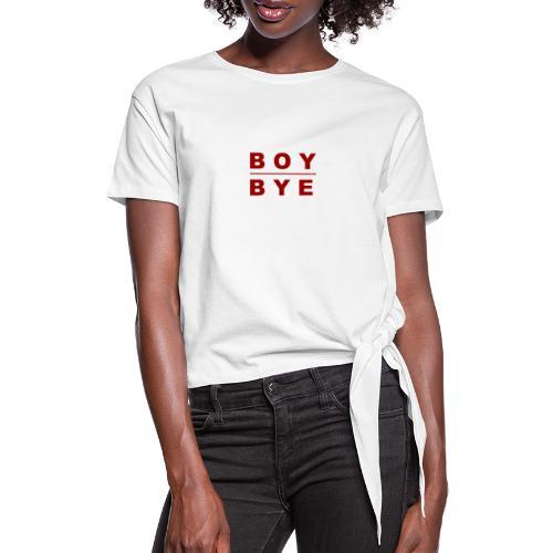 BOYBYE - Vrouwen Geknoopt shirt