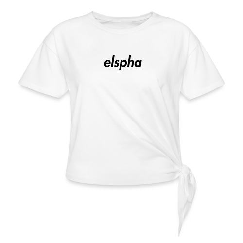 elspha - Women's Knotted T-Shirt