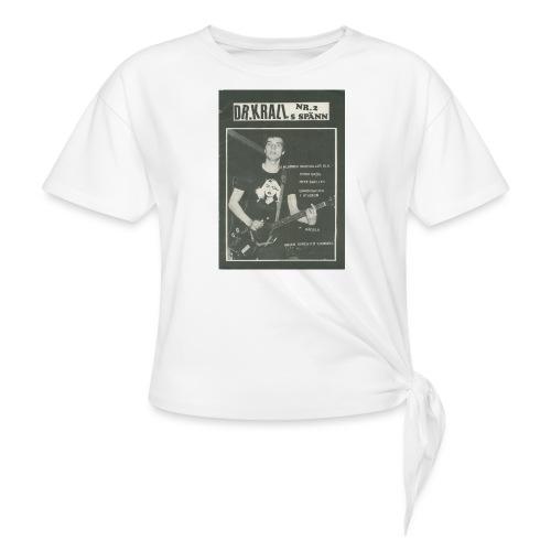 Svart Dr Krall - T-shirt med knut