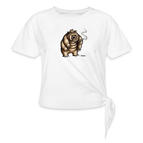 Smokey the Water Bear - Knotted T-Shirt