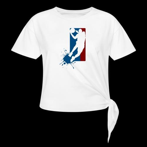basket ball - T-shirt à nœud
