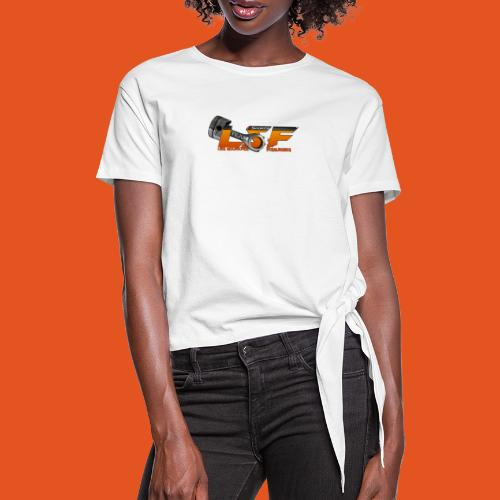 LSFlogo - T-shirt à nœud Femme