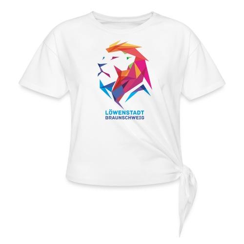 Löwenstadt Design 7 - Frauen Knotenshirt