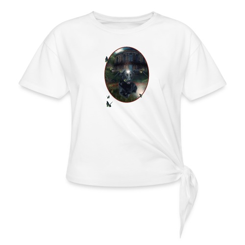 PlaneetCay t shirt - Geknoopt shirt