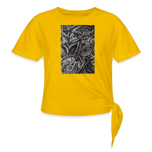 henna - Knotted T-Shirt