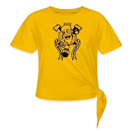 Lumber Jacques - T-shirt à nœud Femme