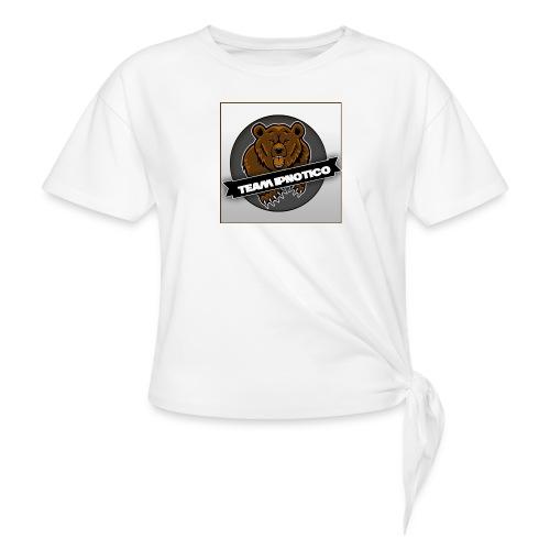 Team Ipnotico - T-shirt med knut dam