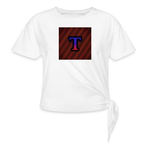 Logo - Vrouwen Geknoopt shirt