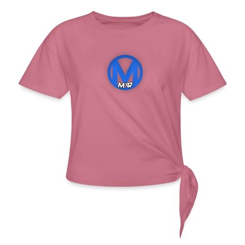 MWVIDEOS KLEDING - Vrouwen Geknoopt shirt