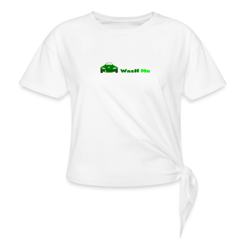 wash me - Knotted T-Shirt