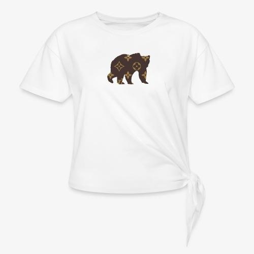 alouci x lv - T-shirt med knut dam