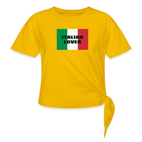 ITALIAN LOVER - Maglietta annodata da donna