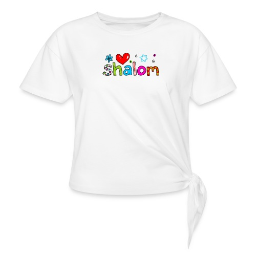 Shalom II - Frauen Knotenshirt