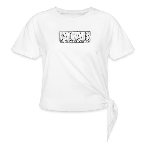 #ACAB - T-shirt med knut dam