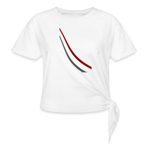 stripes shirt png - Geknoopt shirt