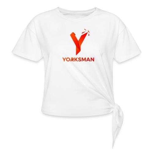 THeOnlyYorksman's Teenage Premium T-Shirt - Women's Knotted T-Shirt