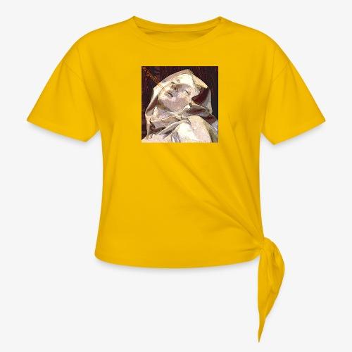 #OrgulloBarroco Teresa - Camiseta con nudo mujer