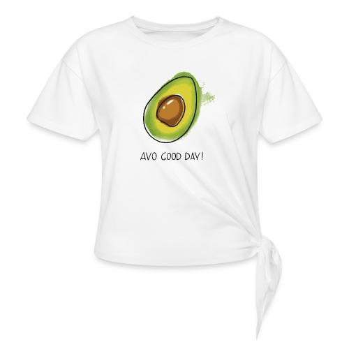 Fruit Puns n°2 Avo Good Day, Avocado - Frauen Knotenshirt