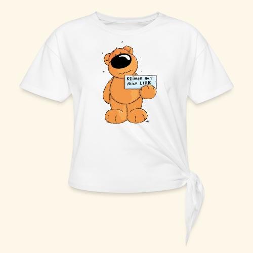 chris bears Keiner hat mich lieb - Knotenshirt