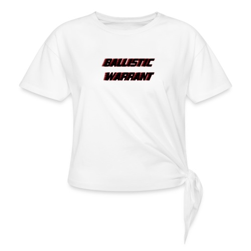 BallisticWarrrant - Vrouwen Geknoopt shirt