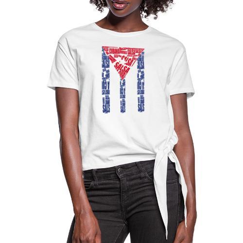 Salsa Cubana - Frauen Knotenshirt