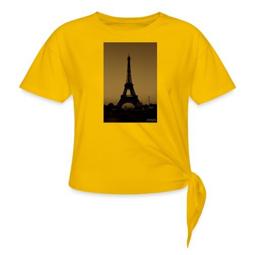Paris - Women's Knotted T-Shirt