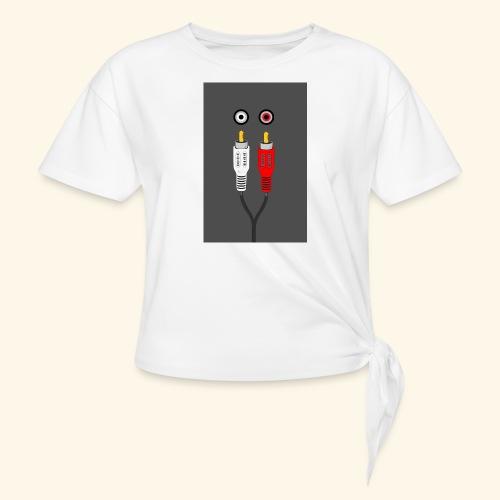 rca cable1 - Maglietta annodata da donna