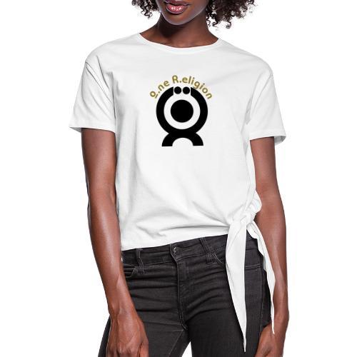 O.ne R.eligion Only - T-shirt à nœud Femme