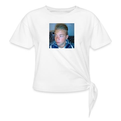 Fan Tröja - T-shirt med knut dam