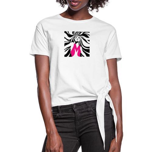 Mélographie - T-shirt à nœud Femme