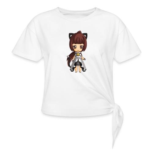 Chibi Kat Lyss by Calyss - T-shirt à nœud