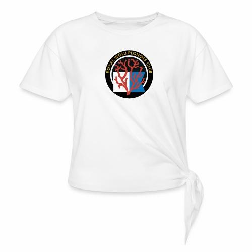 Royal Wolu Plongée Club - T-shirt à nœud Femme