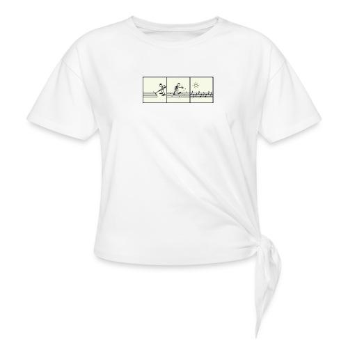 music of the sun - T-shirt à nœud