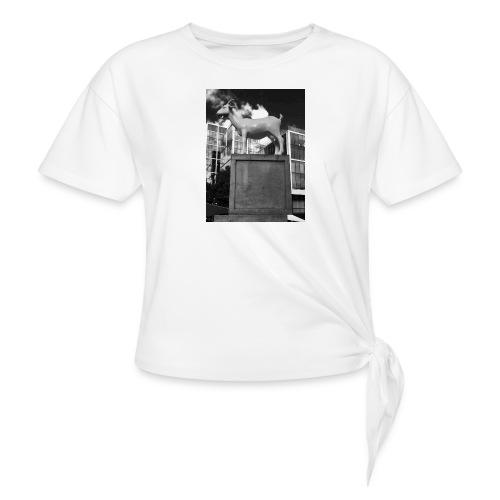 Ged tee - Dame knot-shirt