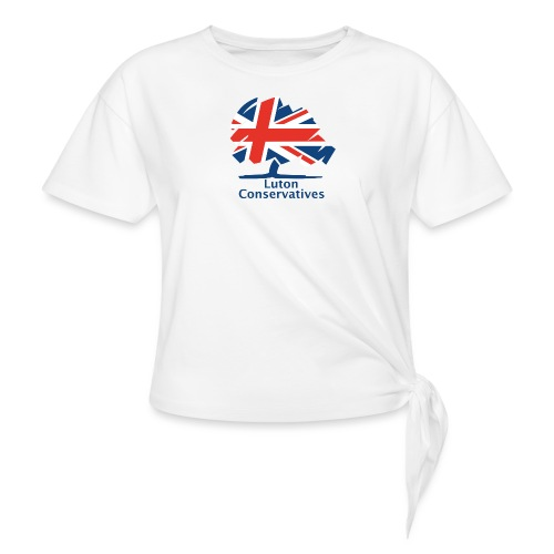 Luton Conservatives Badge - Knotted T-Shirt