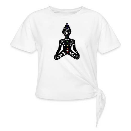 Meditation - Knotted T-Shirt
