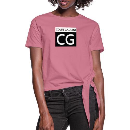Colin Gaucini - Frauen Knotenshirt
