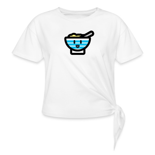 Cute Breakfast Bowl - Knotted T-Shirt