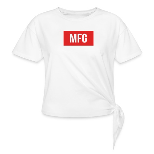 MFG on Youtube Logo - Knotted T-Shirt