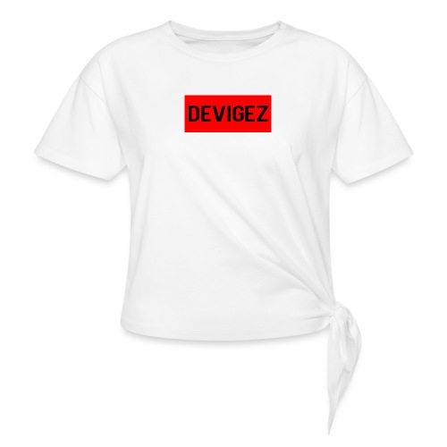 devigez original - T-shirt med knut dam