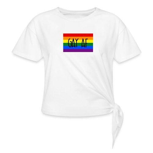 gay af - Knotenshirt