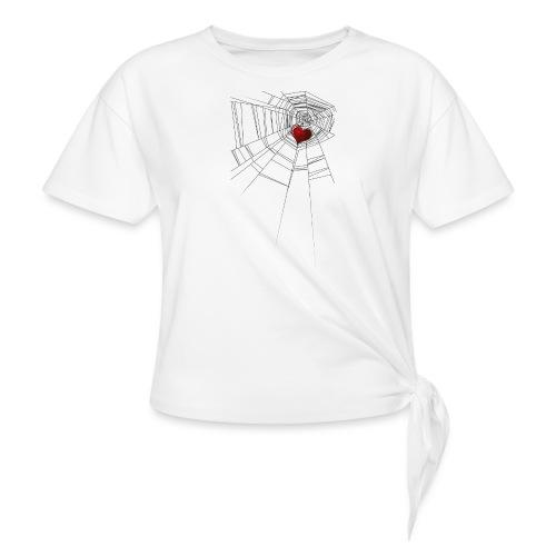 trappola_del_cuore - Maglietta annodata