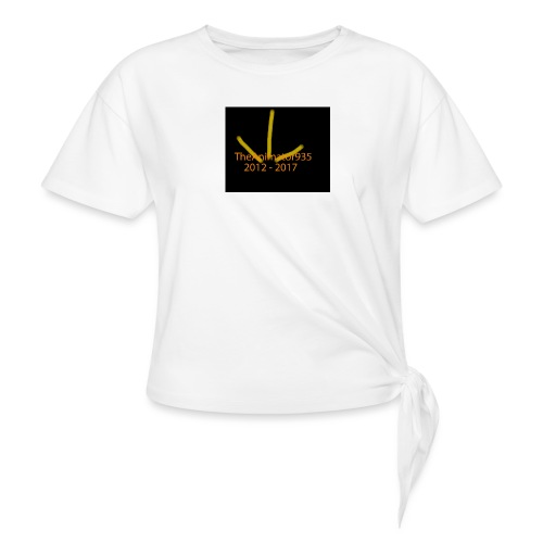 TheAnimator935 Logo - Knotted T-Shirt