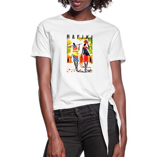 Rafiki = Friend - Dame knot-shirt